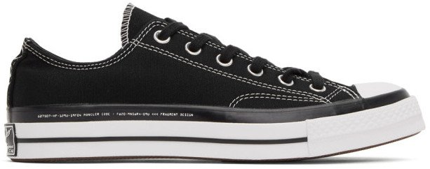Black Converse Edition Fragment Chuck 70 Low-Top Sneakers