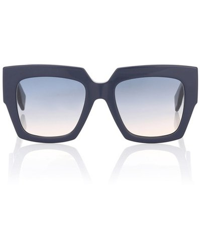 Facets oversized square sunglasses