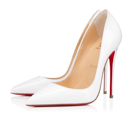 SO KATE 120 WHITE PATENT - Women Shoes - Christian Louboutin