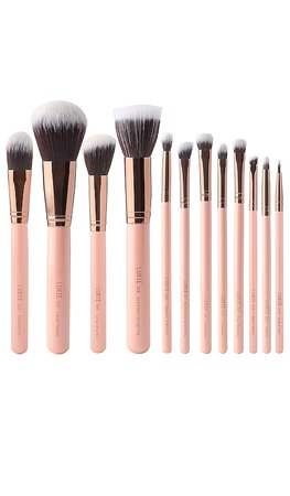 1 Brush Luxie Rose Gold Brush Set in | REVOLVE