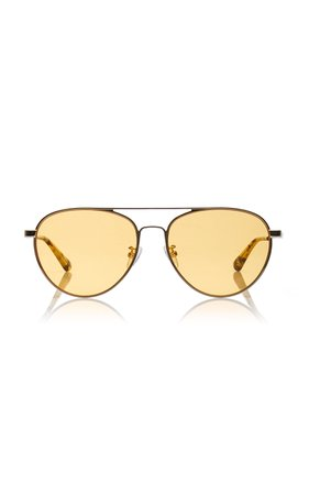 MCQ Sunglasses Aviator-Style Metal Sunglasses