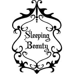 Shop Design on Style 'Sleeping Beauty' Vinyl Wall Art Quote - Free Shipping On Orders Over $45 - Overstock - 5156332