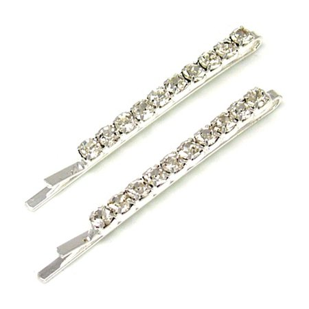 diamand hair clips - Google Search