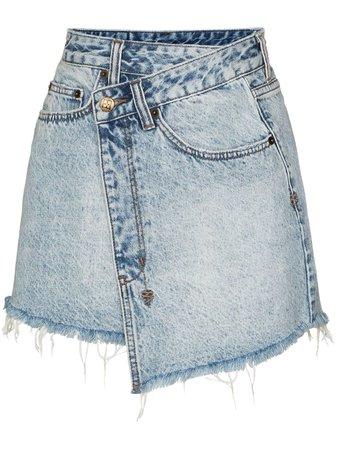 Ksubi Wraparound Denim Skirt - Farfetch
