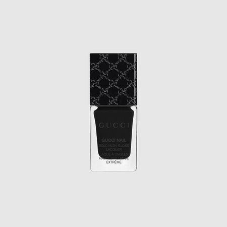 Iconic black, Bold High-Gloss Lacquer - Gucci Nail Polish 36740599PRD1111