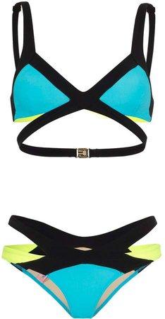 Mazzy cut-out bikini set