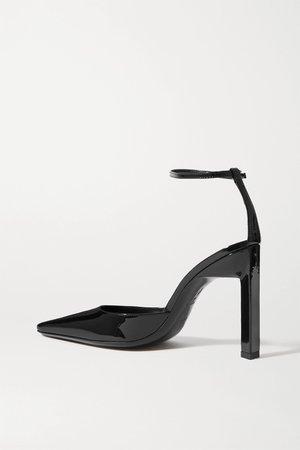 Black Patent-leather pumps   The Attico   NET-A-PORTER