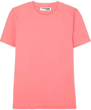 Stretch-jersey T-shirt - Pink