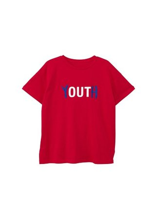 MANGO Organic cotton message t-shirt