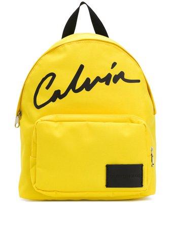 Calvin Klein Logo Backpack Ss20 | Farfetch.com