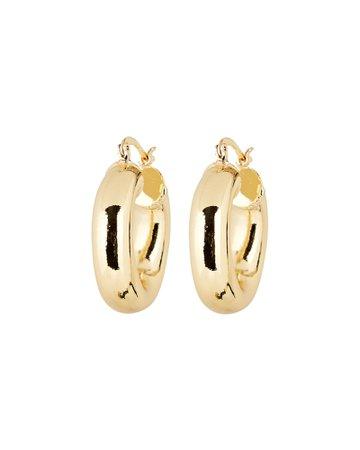Jordan Road Jewelry Monaco Hoop Earrings | INTERMIX®