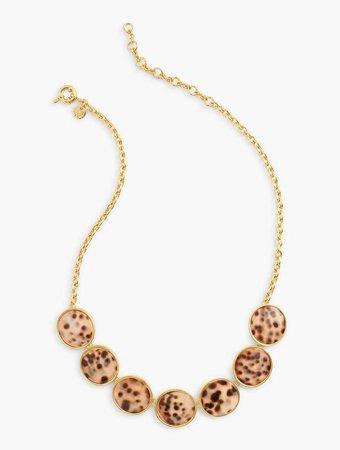 Leopard Statement Necklace | Talbots
