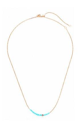 Sydney Evan Turquoise Graduated Necklace