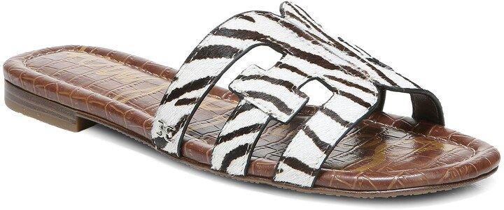 Bay Genuine Calf Hair Slide Sandal