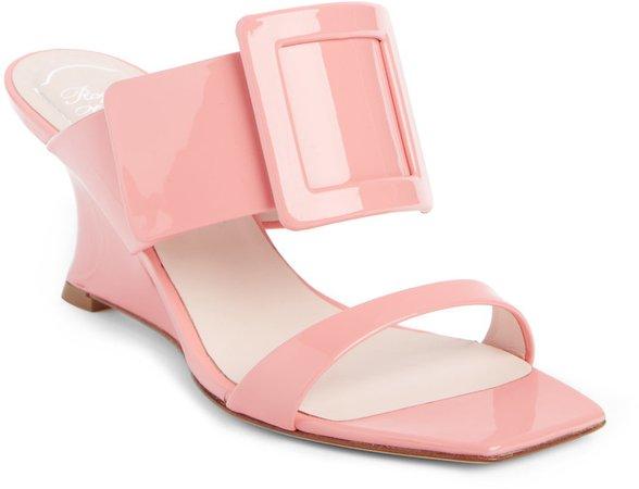 Viv in the City Wedge Slide Sandal