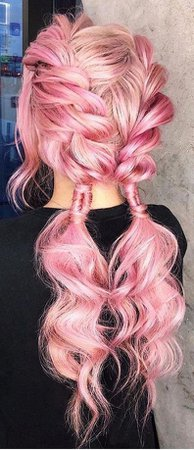 Pink Pigtails (PInterest)