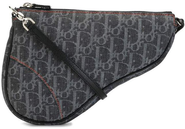 Trotter monogram Saddle shoulder bag