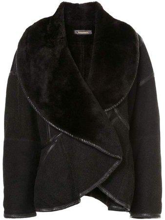 Pre-Owned oversized short coat