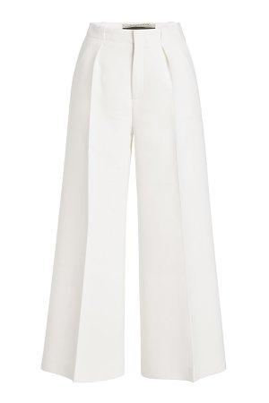 Broadgate Cropped Wool Pants Gr. UK 10