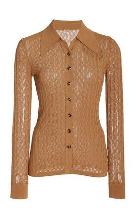 Meryl Pointelle-Knit Top By Dodo Bar Or | Moda Operandi