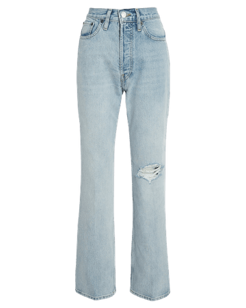 RE/DONE 70s Distressed Bootcut Jeans