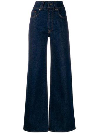 Victoria Victoria Beckham High Rise Wide Leg Jeans Ss20 | Farfetch.com
