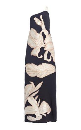 Unconditionally Yours Embroidered Silk Maxi Dress By Johanna Ortiz   Moda Operandi