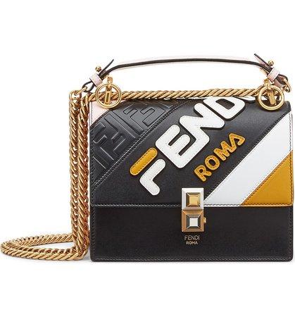 Fendi x FILA Small Kan I Mania Logo Shoulder Bag | Nordstrom