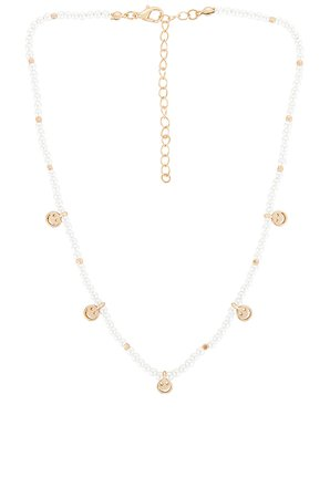 8 Other Reasons Beaded Choker Necklace in Gold | REVOLVE