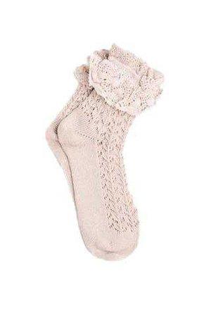 white mesh lace socks - Google Search