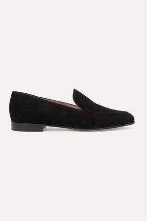 Marcel 20 Suede Loafers - Black