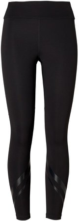 High-Rise Compression Side-Pocket Chevron Leggings