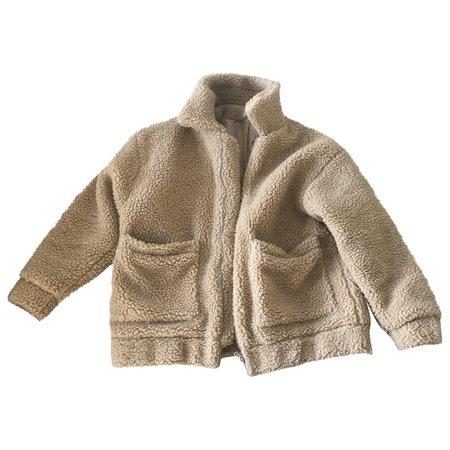 Coat I.Am.Gia Camel size XS International in Polyester - 6746654