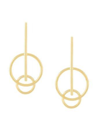 Nove25 Geometric Jupiter Earrings - Farfetch