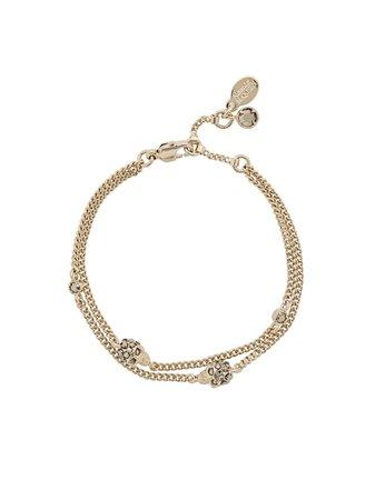 Alexander McQueen Skulls Bracelet - Farfetch