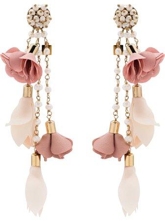 Rosantica Sentiero Flower Charm Earrings - Farfetch