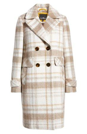 Sam Edelman Double Breasted Tweed Coat   Nordstrom