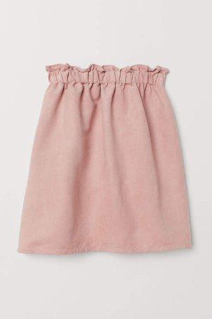 Paper Bag Skirt - Pink