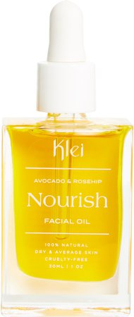 Klei Nourish Avocado & Rosehip Facial Oil