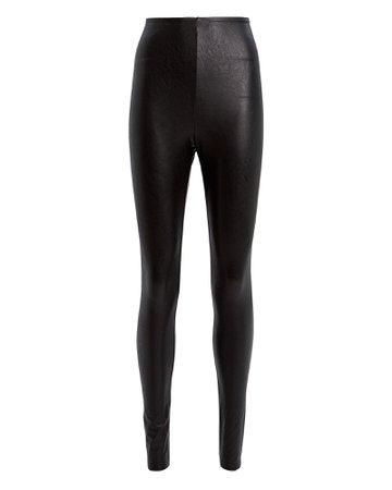 Commando | Perfect Control Faux Leather Leggings | INTERMIX®