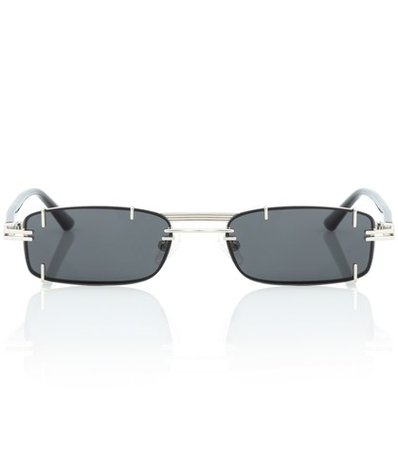 x Linda Farrow rectangular sunglasses