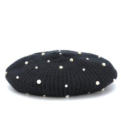 Coco Embellished Wool Beret - Jennifer Behr | Mytheresa