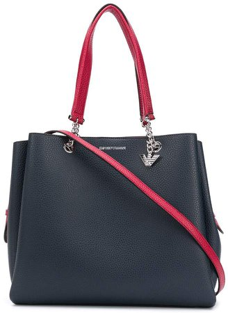 Textured Look Tote
