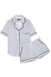 DKNY | Signature cotton-blend jersey pajama set | NET-A-PORTER.COM