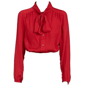 red bow shirt blouse png