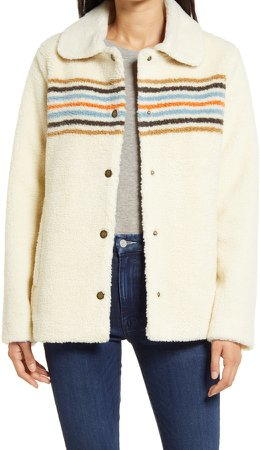 Danville Faux Shearling Jacket