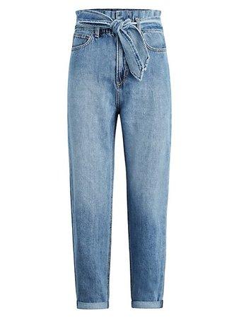Joe's Jeans Brinkley Paperbag Jeans | SaksFifthAvenue