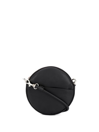 Shop black MM6 Maison Margiela circle crossbody bagwith Express Delivery - Farfetch
