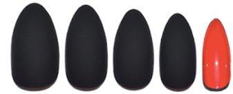 Static Nails Caviar Matte Caviar Pop-On Manicure Set
