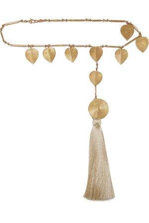 Johanna Ortiz + Paula Mendoza & Cano Olive Trees | fringed gold-tone belt